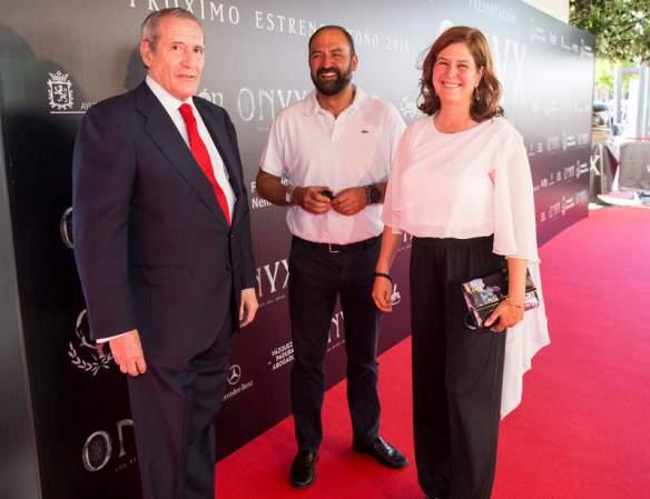 Estreno de la película Onyx Los Reyes del Grial. F. Otero Perandones.